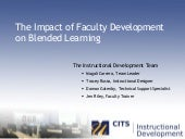 The Impact of Faculty Development o...