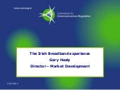 The Irish Broadband experience - Ga...