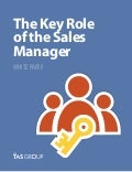 Sales White Paper: The Key Role Of The Sales Manager