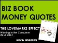 The Lovemarks Effect ... money quotes