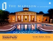 The Madison -- Orlando, Florida  -- Real Estate Investment Marketing