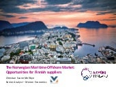 The Norwegian maritime and offshore market opportunities for Finnish suppliers