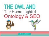Owl and The Hummingbird - Ontology and SEO