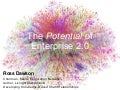 The Potential of Enterprise 2.0