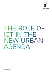 The role of ICT in the new urban agenda