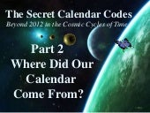 The Secret Calendar Codes 2 of 7