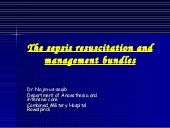 The Sepsis Resuscitation And Manage...