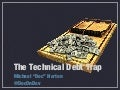 The Technical Debt Trap - AgileIndy 2013