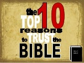 The  Top 10  Reasons To  Trust The ...