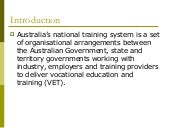 Overview - The Training System