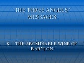 The Abominable Wine Of Babylon
