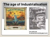 The age of industrialisation