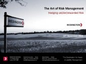 The Art of Risk Management- Hedging...