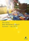 [ARCHIVE] Aviva Real Retirement Report Summer 2012