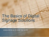The Basics of Digital Signage Solut...