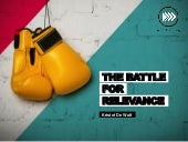 The Battle for Relevance at DM Jubileum Seminar