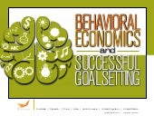 The Behavioral Economics of Setting Sales Goals