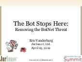 The Bot Stops Here: Removing the Bo...