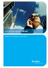 The Boyden Report Brazil