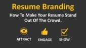 "Resume Branding "" How To Build a Resume To Stand Out Of The Crowd & Win Job Search Competition """