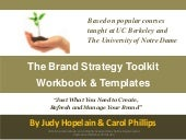 The brand strategy toolkit_workbook