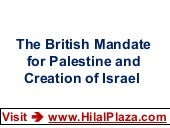 The British Mandate for Palestine a...