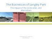 The businesses of langley park the ...