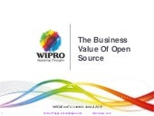 The Business Value of Open Source