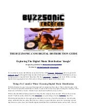 The Buzzsonic.com Ultimate Digital ...