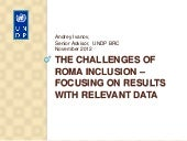 The Challenges of Roma Inclusion