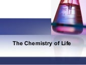 The chemistry of life blackboard