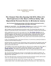 The clement palo alto, opening fall 2015