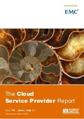 The cloud service provider report s...