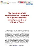 The compostela world declaration 2010