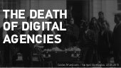 The Death of Digital Agencies