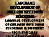 Language Development of Children wi...