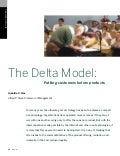 The Delta Model:  Putting Customers Before Products