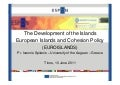 The development of the islands, Ioannis Spilanis