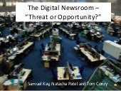 The digital newsroom presentation