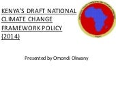 Kenya Draft National Climate Change...