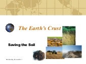 The Earth'S Crust #13 Saving The Soil
