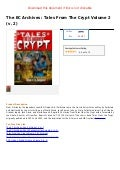 The ec archives  tales from the crypt volume 2 (v. 2)
