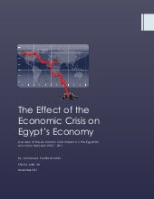 The effect of the economic crisis o...