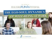 The Ego Soul Dynamics of Well-Being at Work - Richard Barrett