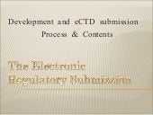 The Electronic Regulatory Submission