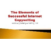 The Elements of Successful Internet...