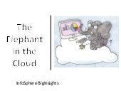 The Elephant in the Cloud:  Bring T...
