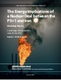 Harvard University The energy implications of a nuclear deal between the p51 and iran