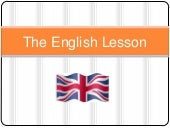 The english lesson   past continuous