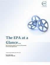 The Cariforum-EC EPA At A Glance